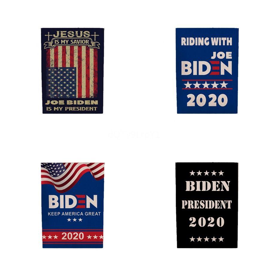45 * 30 Cm Eleição Biden Bandeiras 2020 Usa Presidente Apoio Bandeira Campanha Bandeira Biden Mantenha América grande bandeira A03 # 406
