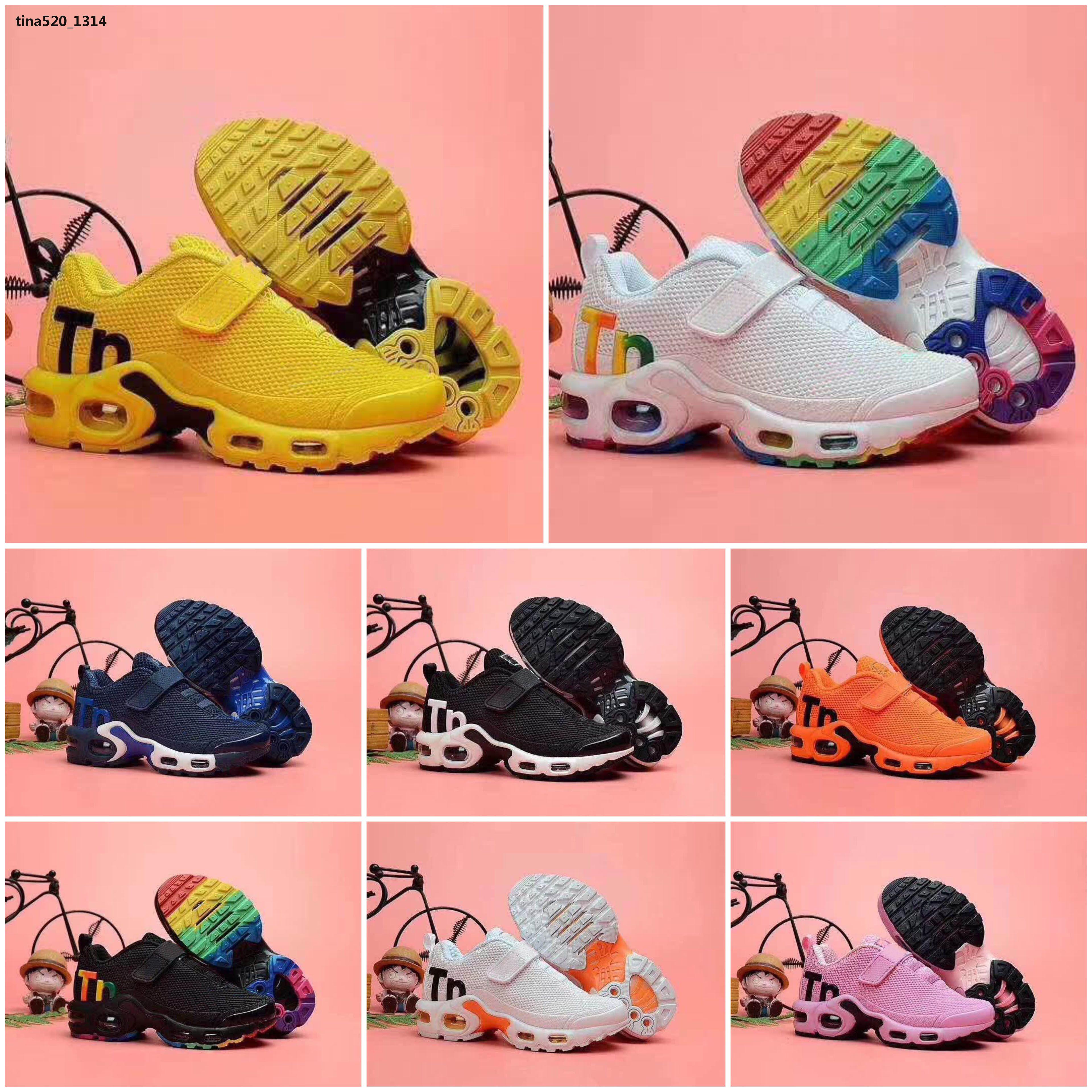 Mercurial Plus Tn 2019 Kinder TN Plus-Designer Sport Laufschuhe Kinder Jungen-Mädchen-Turnschuhe Tn Turnschuhe klassische Outdoor-Kleinkind-Schuh