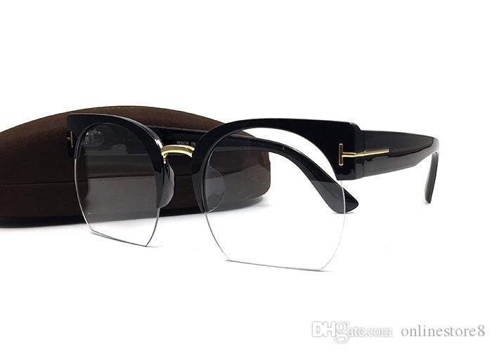 نمط جديد توم شعبية العلامة التجارية النظارات الشمسية النساء القط النظارات البصرية لوحة إطار الصيف في الهواء الطلق حماية من الأشعة فوق نظارات الموضة مع مربع