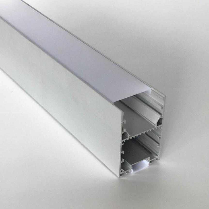 무료 배송 1.2 메터 / 개 1.8 메터 / 개 큰 크기 LED 압출 알루미늄 프로파일 하우징 사용하여 LED 스트립 빛 PC 디퓨저