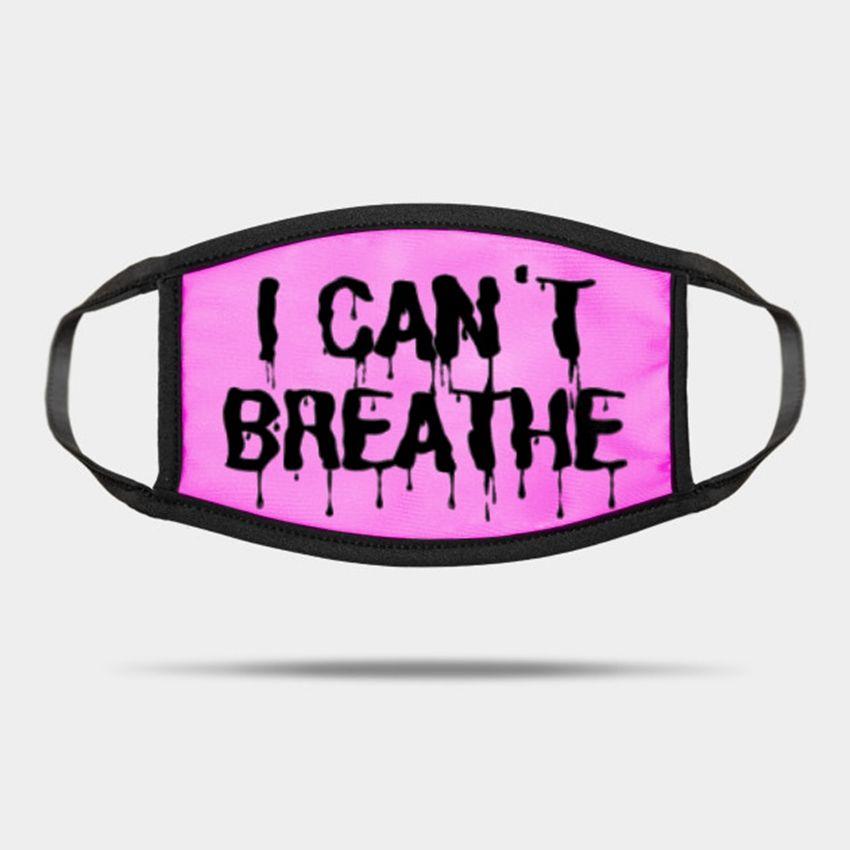 Adultos não consigo respirar máscaras Máscaras laváveis Máscaras de Verão ao ar livre Desporto de equitação Fashion Designer Máscara ZZA2259 70pcs