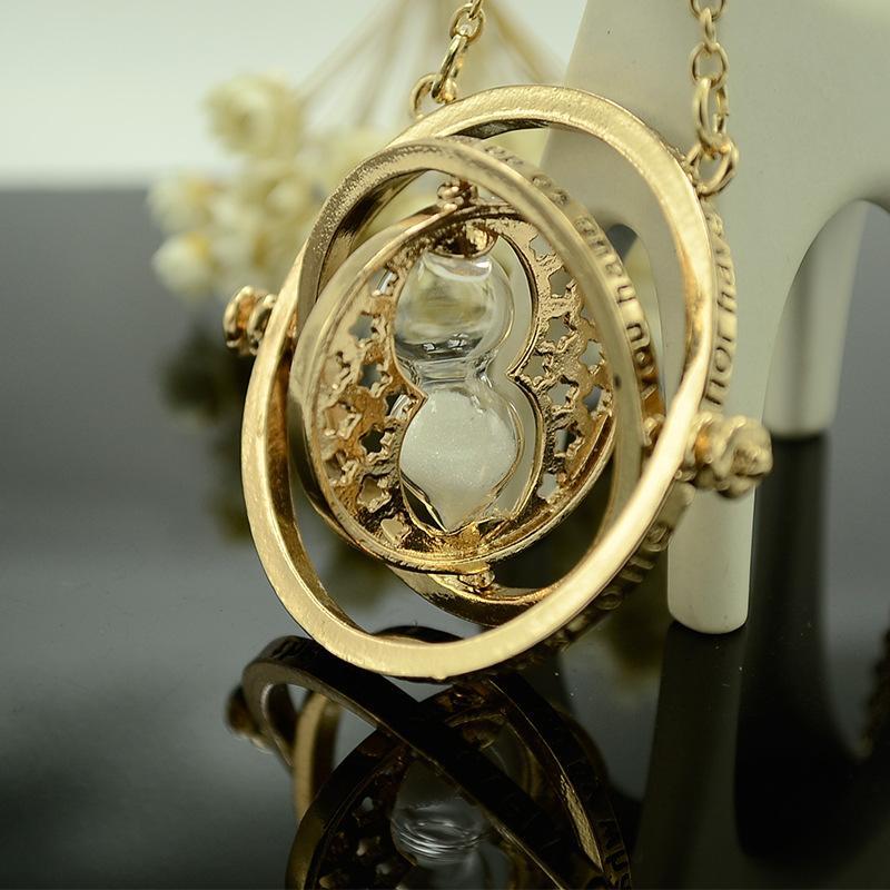 2020 Gifts serie di Magic Hot HP-Collana Per i più piccoli in oro Time-Turner catena pendente Giratiempo