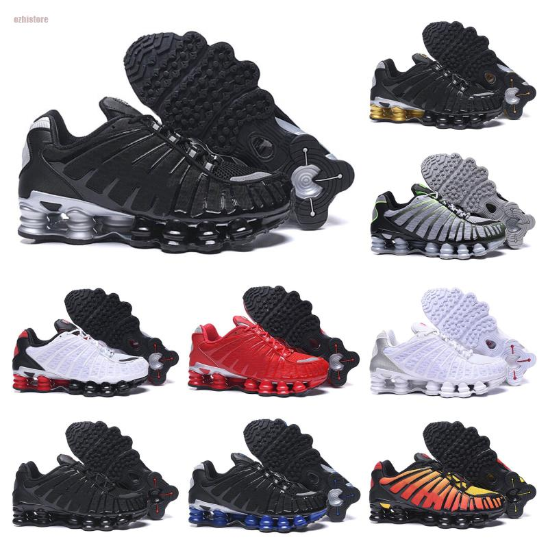 Nike air max Shox 2020 Skepta TL Shoes Mens TN R4 TL Black Gold Red Pastel Hues Wolf Grey Breathe Air Sneakers Tamanho 40-45