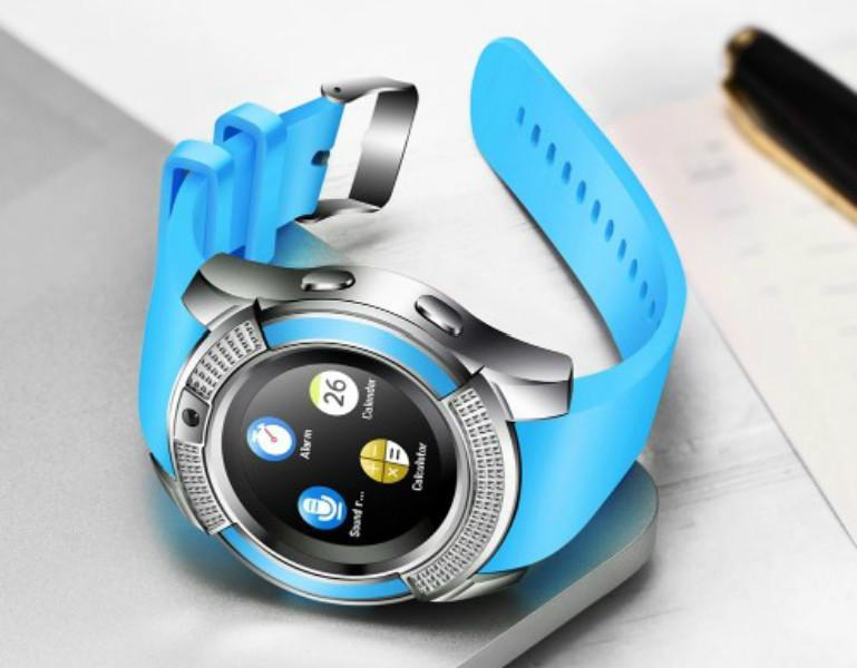 Sıcak Smartwatch V8 Sport Yuvarlak Ekran İyi Kalite Sağlık Akıllı İzle Andriod Bluetooth Bilek Smartwatch Çok fonksiyonlu Smartwatches