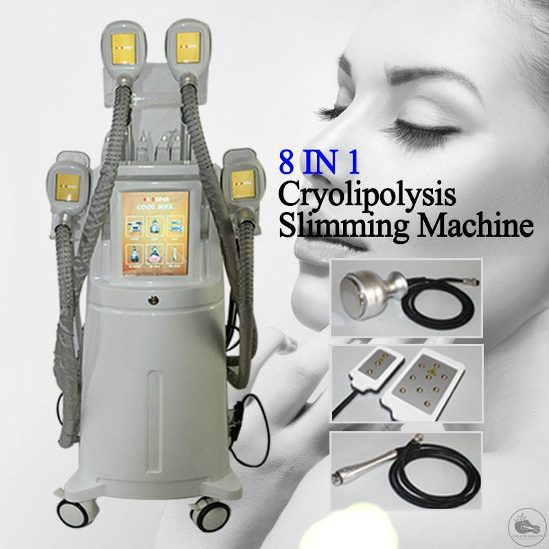 La crioterapia nueva grasa Freeze cuerpo que forma el cuerpo de la máquina de pérdida de levantamiento de pesas ultrasónico de quema de grasa de la máquina el uso del salón