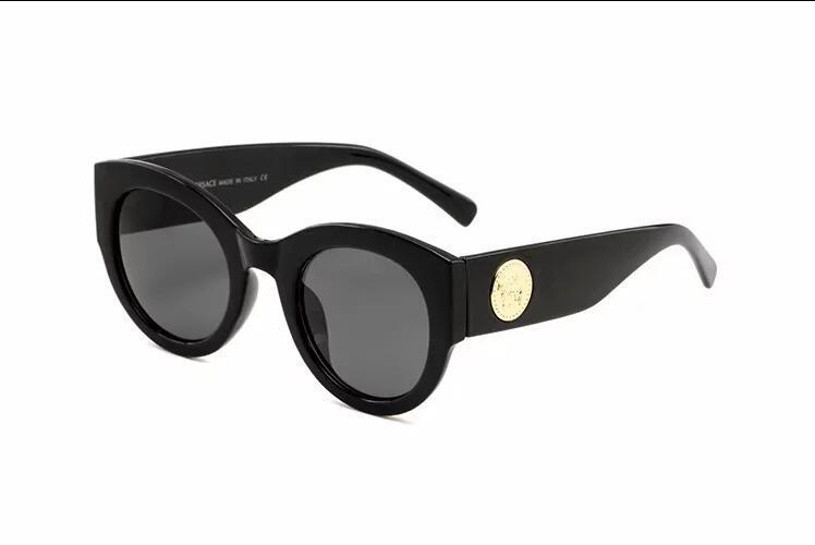 Les nouvelles lunettes de soleil hommes de style de la mode vintage métal design carré sans cadre uv 400 lentilles avec 4026s de cas originaux