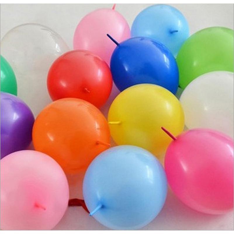 12-Zoll-Link-Luftballons Hochzeit Dekorationen große Größe Schwanz ballon Ereignis Party Supplies 100pcs / pack wholesale