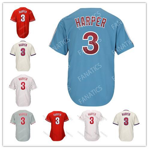 check out c124c 6ce14 2019 Mens Womens Kids Toddler Philadelphia Phillies Jersey 3 Bryce Harper  J.T. Realmuto 17 Rhys Hoskins 27 Aaron Nola Odubel Herrera Wilson Ramos  From ...