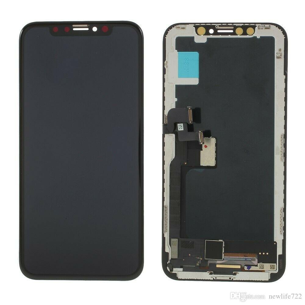 Nuovo arrivo per Iphone X Touch Screen Digitizer Display LCD Assembly 5.8 pollici Sostituzione dello schermo 5.8 pollici 100% testato DHL Freeshipping