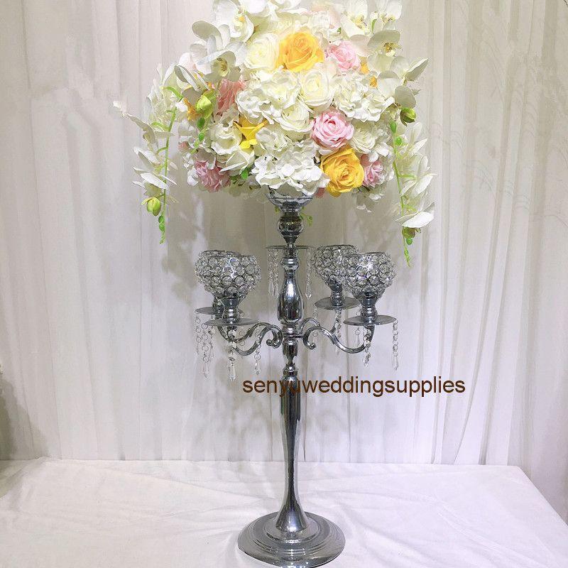New crystal walkway stand wedding aisle decorations pillar for weddings decor senyu0218