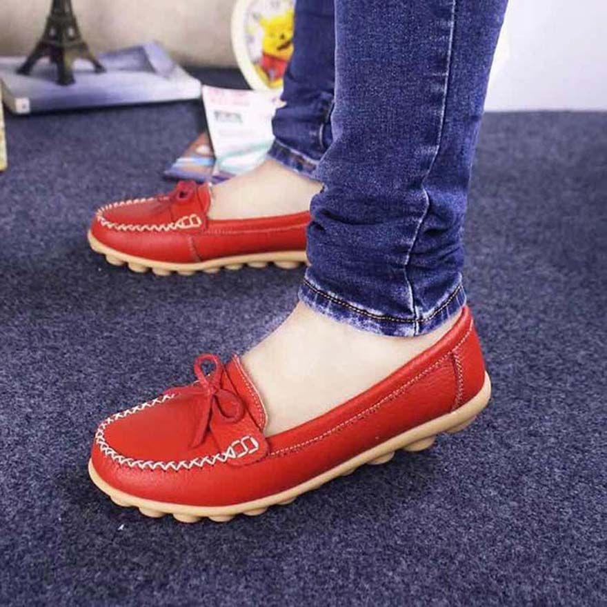 shoe09 tarafından PH056 bayan ayakkabı Yüksek kaliteli deri Sneakers Espadrilles mans eğitmenler makosenler hava Espadrilles des chaussures