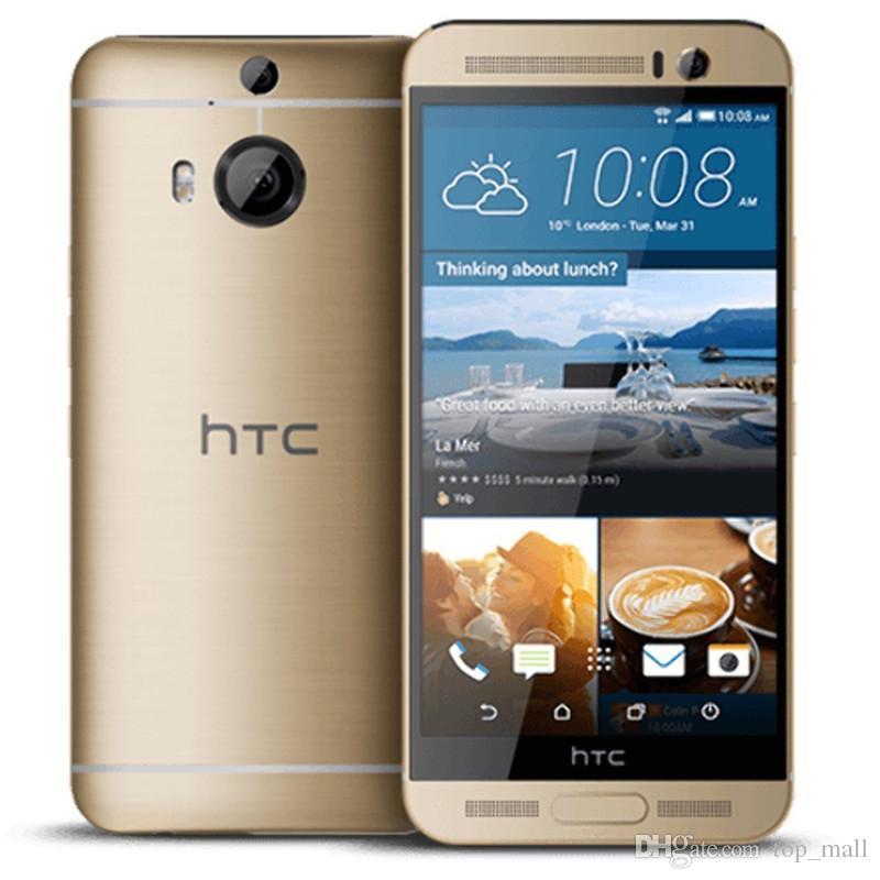 الأصلي مقفلة HTC One M9 Plus M9 + Octa Core 32GB ROM 3GB RAM 4G LTE 20MP كاميرا تم تجديد الهاتف