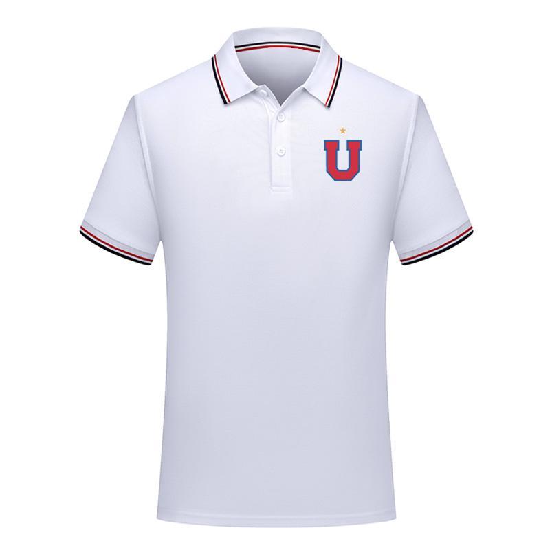 Universidad de Chile Polo gömlek futbol formaları Spor Futbol Polos Moda Polo Kısa Kollu polos yaz futbol Polos gömlek Fanlar Tops