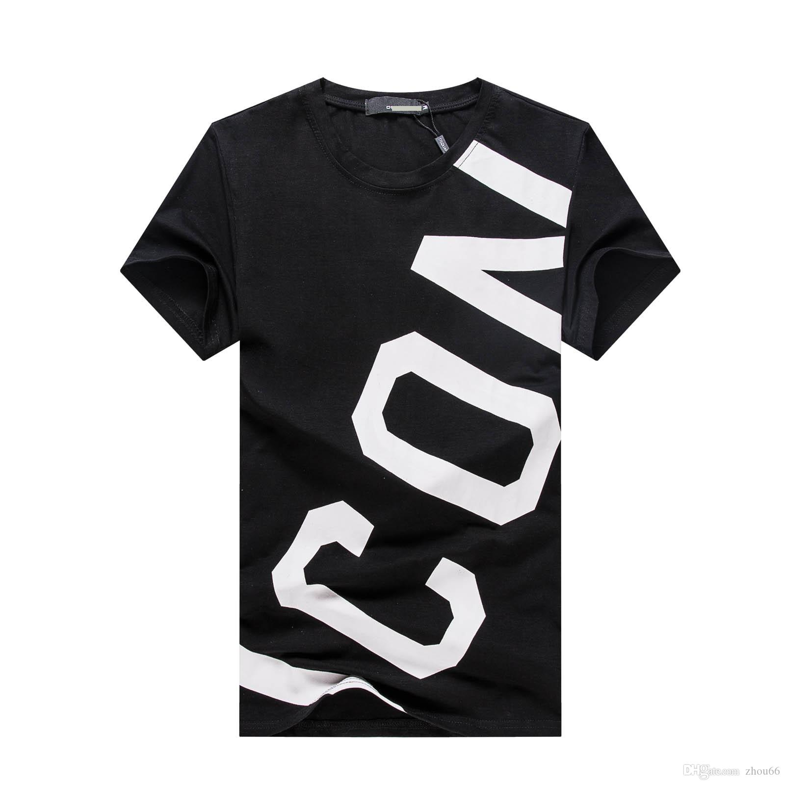 패션 캐주얼 T 셔츠 남성 Streetwear 명품 디자이너 T 셔츠 남성 티셔츠 편지 자수 남자 탑스 반팔 티셔츠 3XL PP07