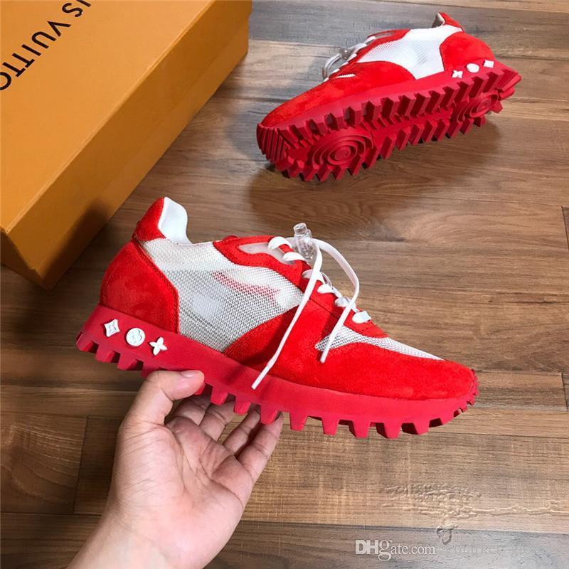 Hot Runner Sneaker 1A525U мужские кроссовки 1A4PJN Роскошные дизайнерские туфли кроссовки модные кроссовки с коробкой