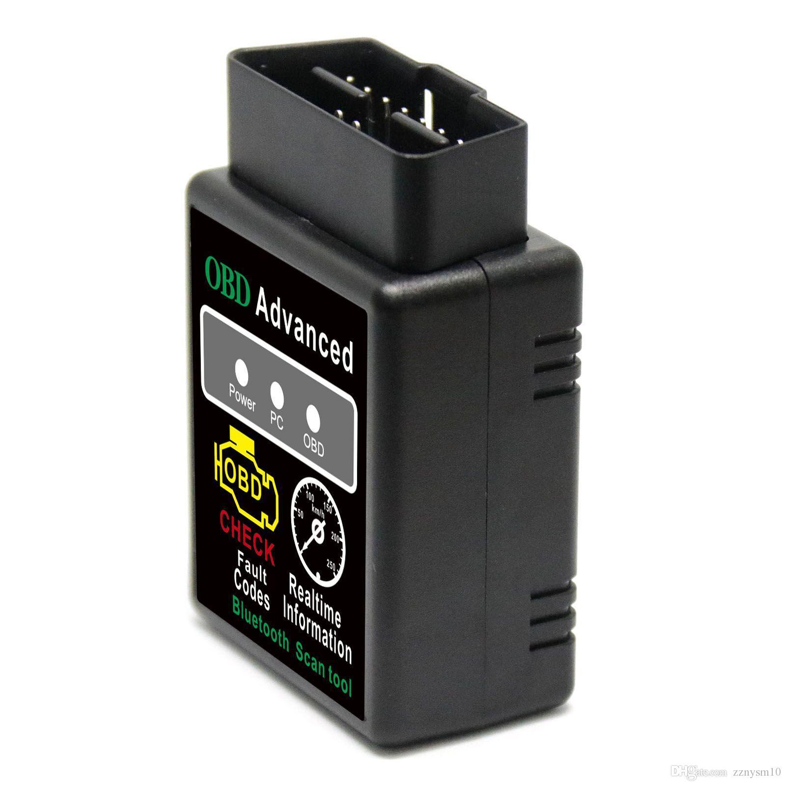 Date ELM327 V1.5 OBD2 Bluetooth Scanner AUTOMOTIVO Auto Diagnostic De ELM Outil 327 OBD 2 Escaner automotriz Pour Android de Windows