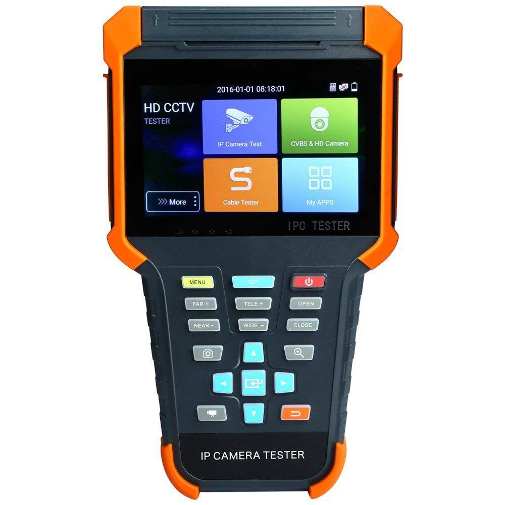 4 Inch H.265 4K IP HD CCTV Tester Monitor AHD CVI CVBS TVI SDI Camera Tester 8MP ONVIF WIFI HDMI Input POE