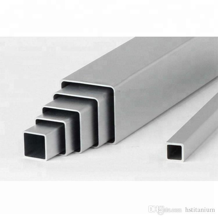 Titanium alloy square tube and pipe capillary Seamless Grade 1 Grade 2 Pure Titanium square tube/ titanium square pipe