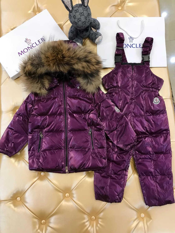 Niños conjuntos 2pcs alta calidad caliente WSJ050 por la chaqueta + pantalones abajo # 112906 whats02
