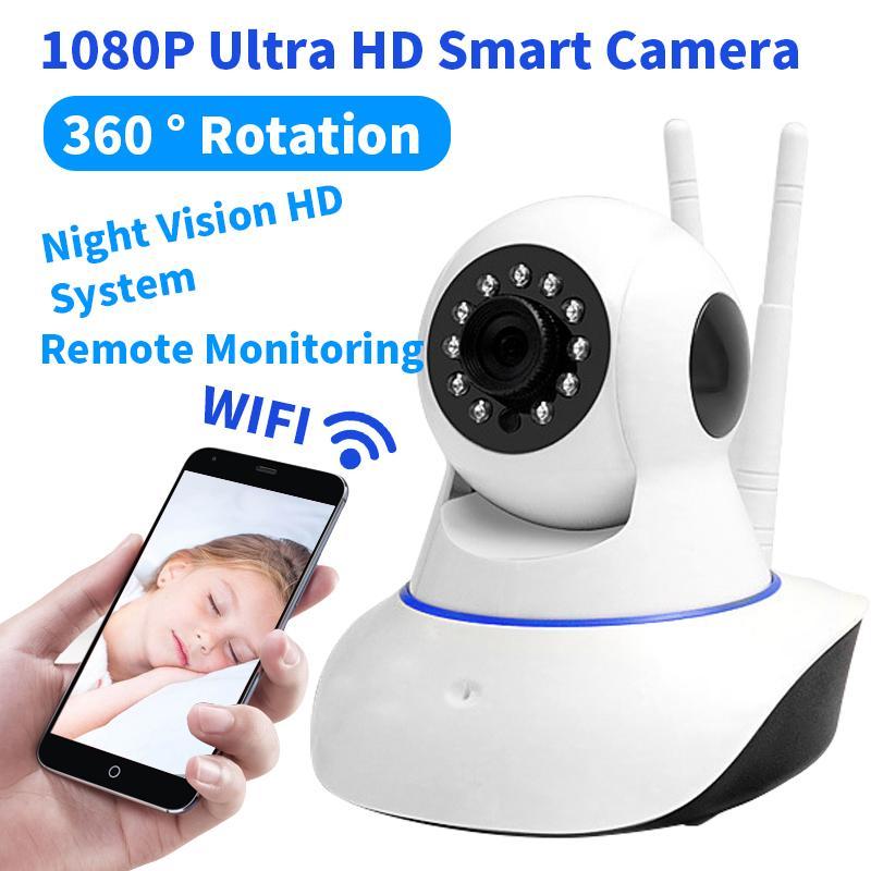 Home Office Security HD IP Camera Wireless CCTV Surveillance Night Vision Camera