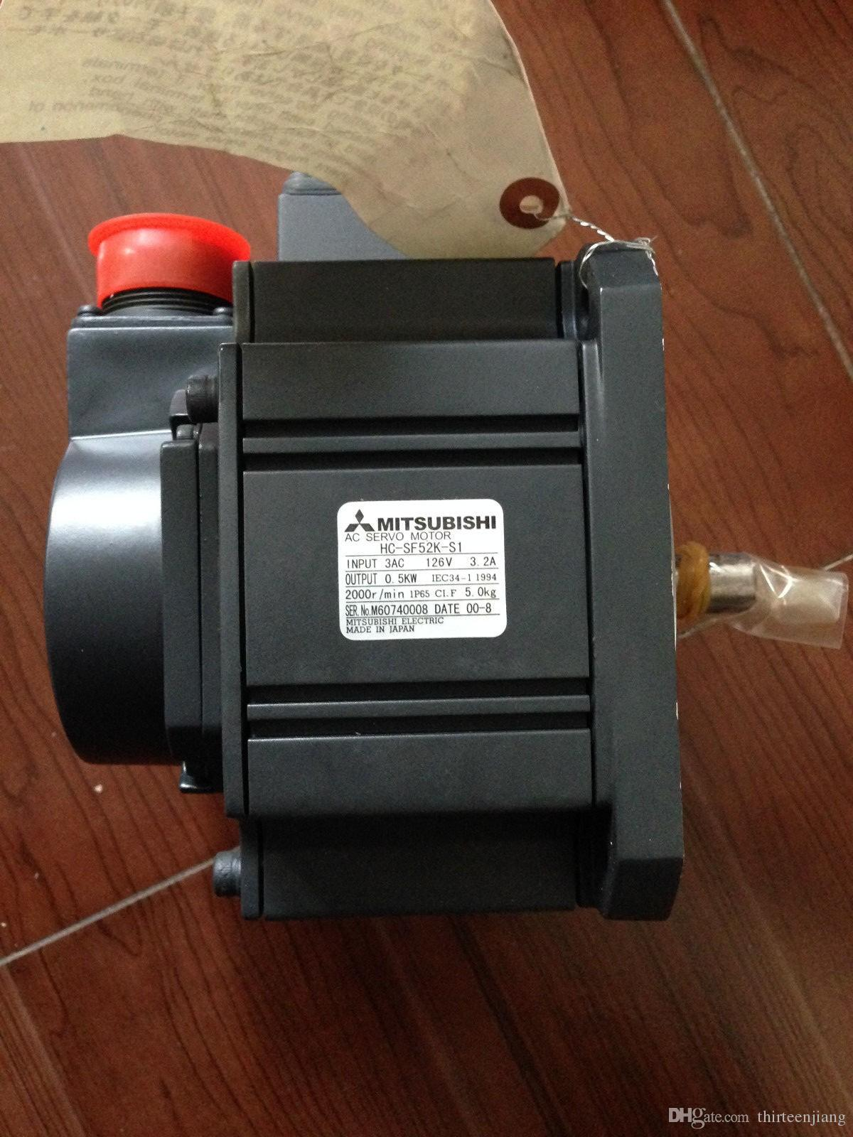 3 phase ac motor Mitsubishi HC-SF52K-S1 Industrial Electric Servo Motor 500W NEW in stock New Free Expedited Shipping