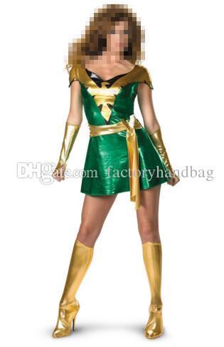 Halloween Activities 2020 Phoenix 2020 Jean Grey Phoenix Shiny Metallic Superhero Costume