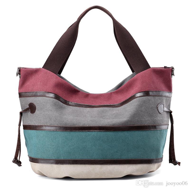 Multi-Color Frauen Casual Retro Hobos Reißverschluss Patchwork Tasche Umhängetasche große Kapazitäts-Außen Travel Bag Umhängetasche Handtasche