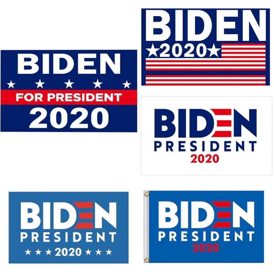 90 * 150cm Donald John Biden Amercia Bayraklar Polyester Kafa Metal Gromet Kişilik Decortive Biden Banner Bayrak Mma1651 60 1pcs # 615