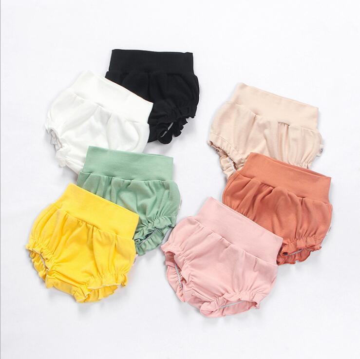 ملابس اطفال الرضع سروال منزعج PP سروال مثلث الصيف الخبز سروال بنين بنات بوتيك حفاضات الاطفال يغطي داخلية YP195