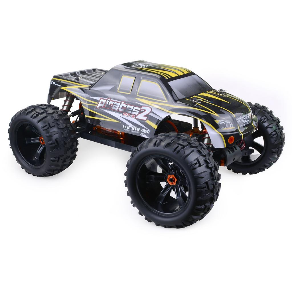 ZD Racing 9116 - V3 RC Cars bricolaje ZD Racing Monster Truck 1/8 Escala completa Tiny real de carreras de coches de la aleación 6061 DIY Marco Kit Versión