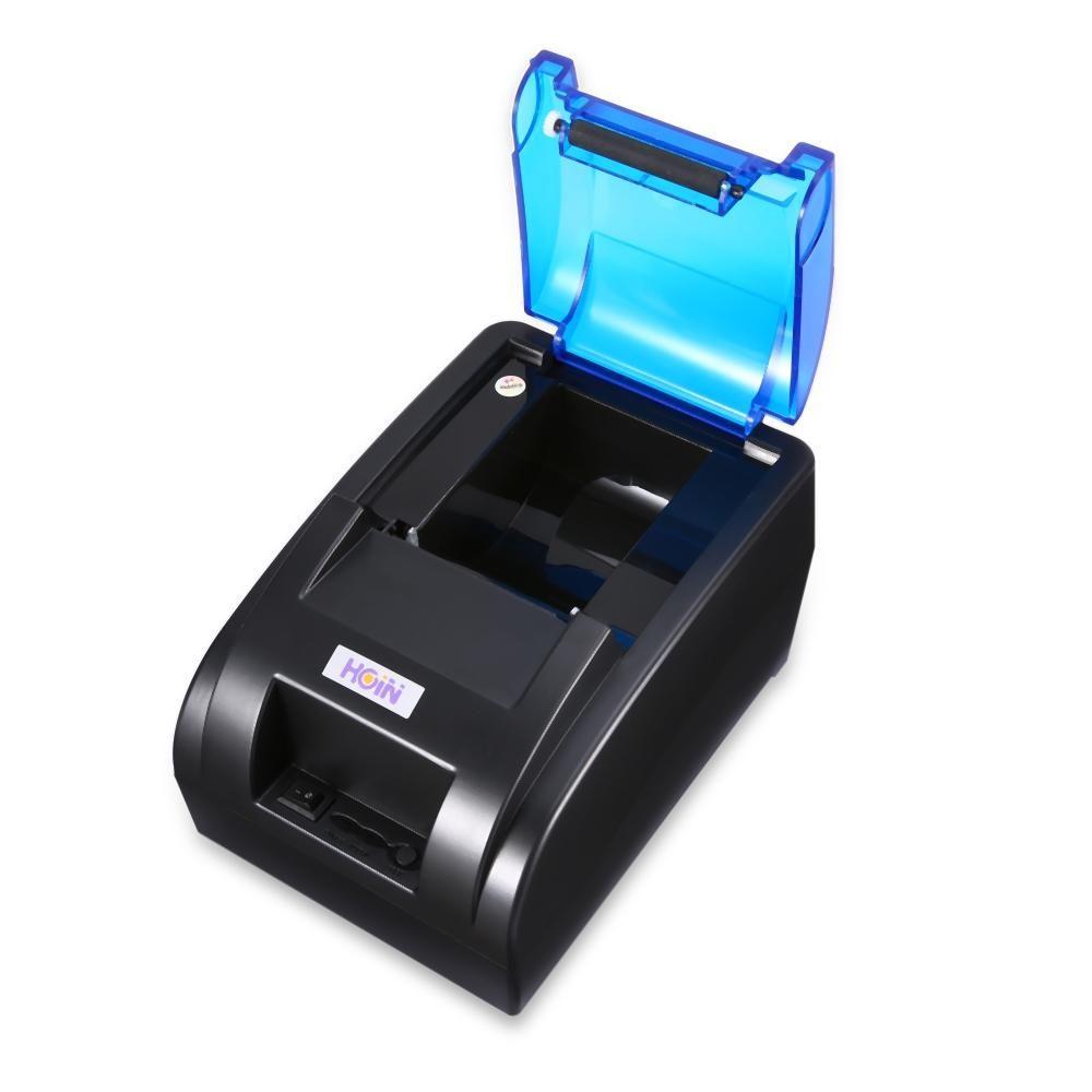 هوين USB / واي فاي المحمولة الحرارية استلام الطابعة الطابعة الحرارية استلام صك تذكرة النقدية آلة POS الطباعة صك
