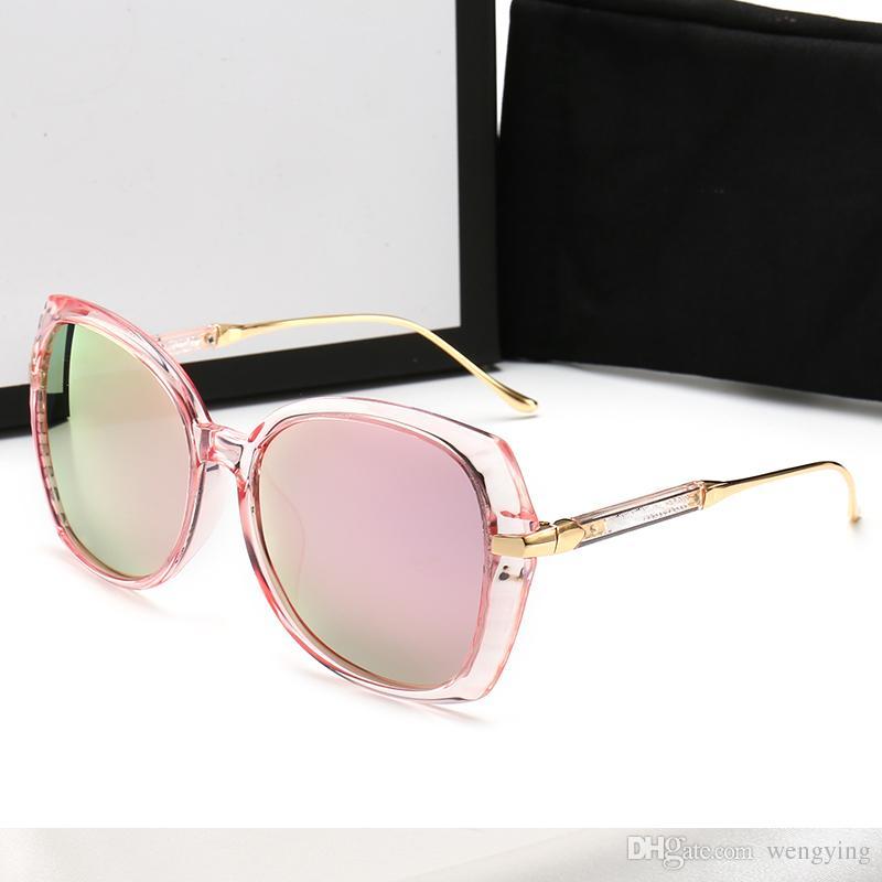 Sol Runde Sonnenbrille Packungslinsen Metallrahmen Spiegel UV400 Female de Retro Brille Sonne Männlichen Einzelhandel Männer Luxus mit Frauen Oculos Uievx