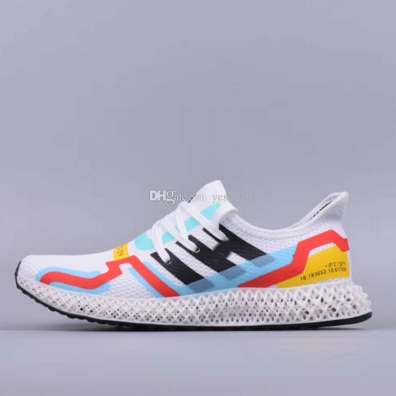 Konsorsiyum Runner Orta 0 ° C 32 ° Futurecraft 4D Baskı Örme Ayakkabı Koşu AlphaEdge 4D LTD Tasarımcı Ayakkabı Platformu Spor Koşu Sneaker