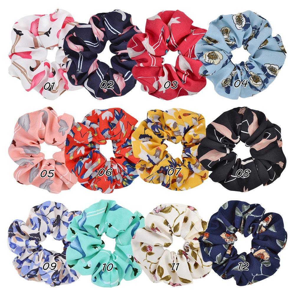 hair accessory pony tail holder Flowers brooch hair tie for girls and women