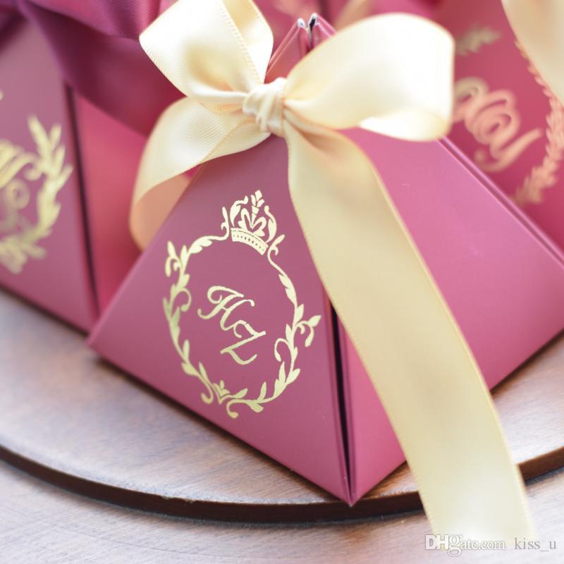 Персонализированные конфеты коробка маленький картон бумаги свадебные карточки коробка украшения бумаги подарочная коробка упаковки