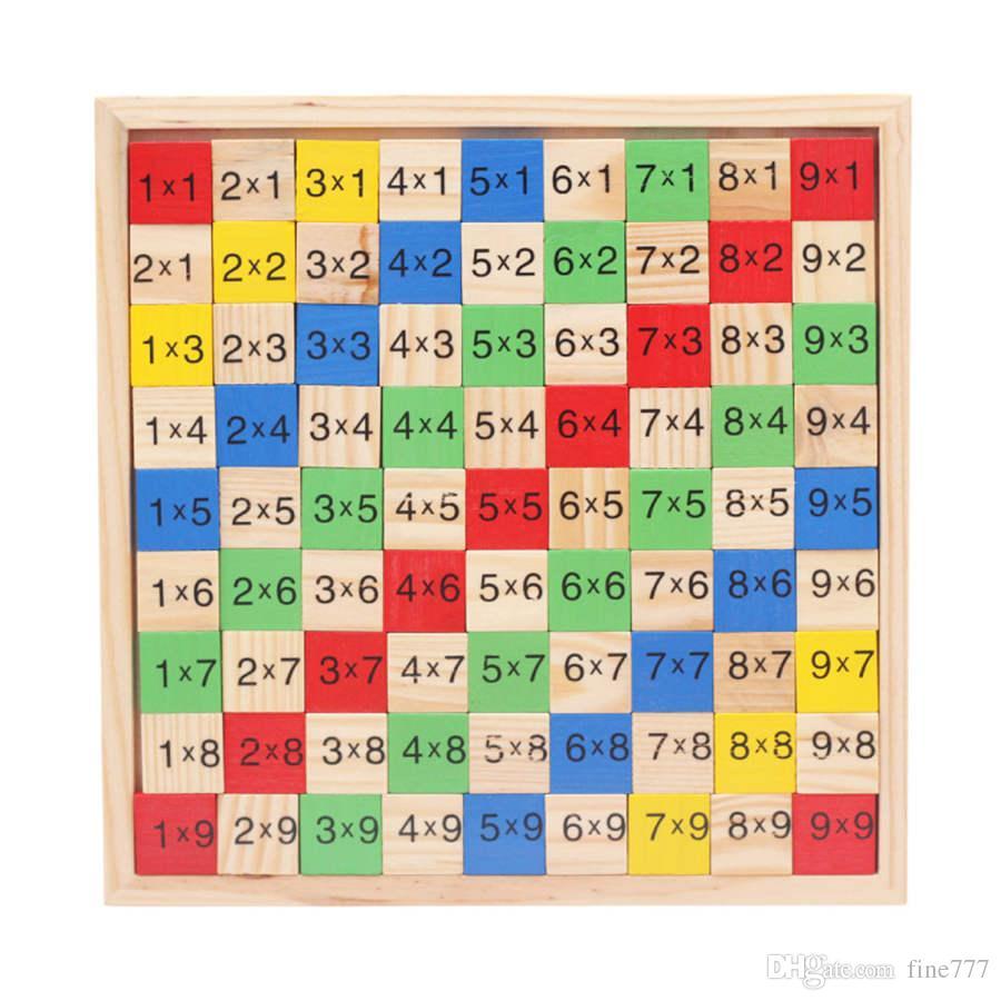 حار بيع فصل والجمع بين جدول الضرب تطوير لعب ذكاء ألعاب شعبية لينة اللعب رمز بطاقة