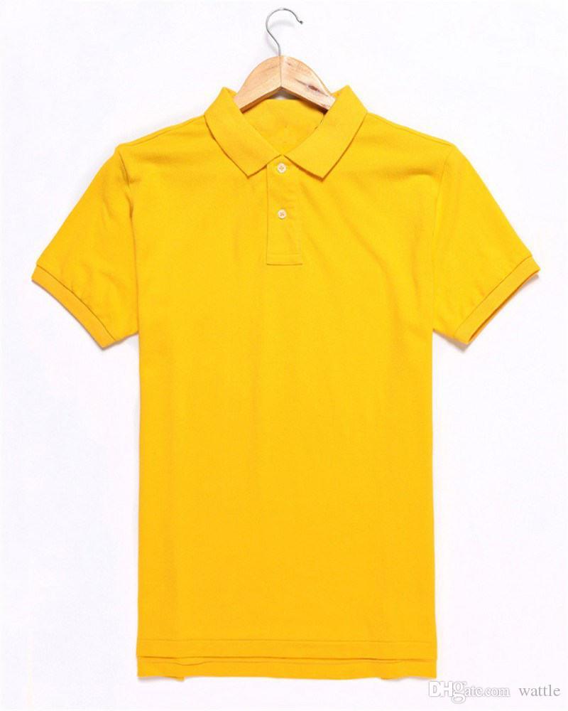 Del progettista di marca camicia di polo degli uomini estate Top corta Abbigliamento manica con camicie Marchi di lusso modello modo di alta qualità Imitated
