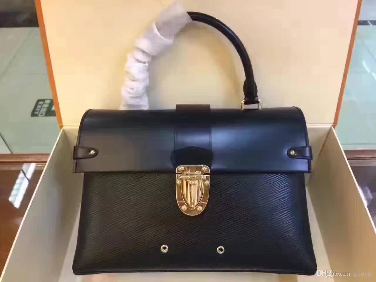 Дизайнер - сумка Подлинное плечо знаменитое M51519 мода PVC M51518 женские сумки сумка 2017 кожаные дамы бренда бренда крест новая роскошь MTWG
