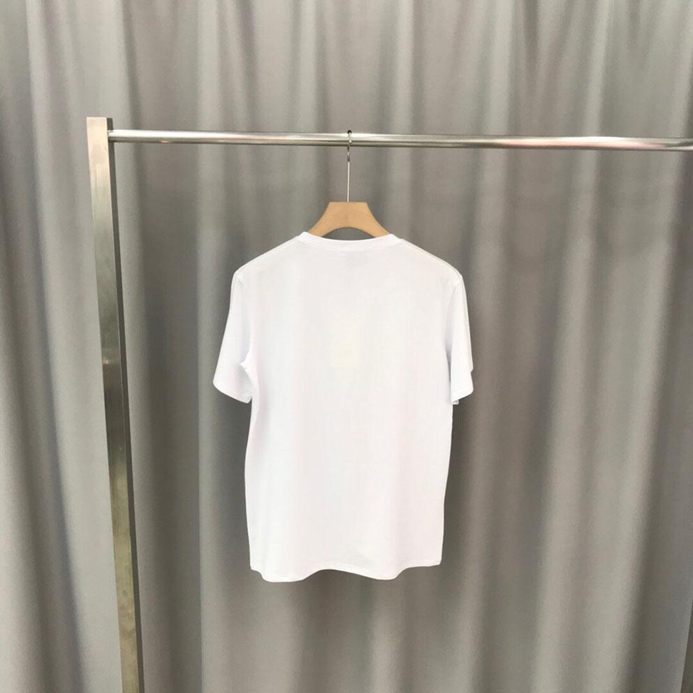 2020 nueva moda de verano diseñador de la manga de aire cómoda plataforma Luxu la camiseta de los hombres europeos extremo estrella alta negro y blanco d125 del multicolor