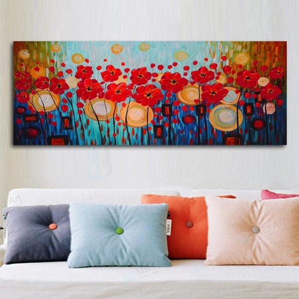 2020 Modern Abstract Flower Wall Art Pictures Painting Wall Art For Living Room Home Decor No Frame From Mansheng 1 93 Dhgate Com