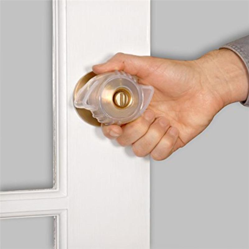 Bouton de porte fluorescente foyer couverture Antidérapante amovible Bouton couvercle porte Accessoires auxiliaire ouvert portable outil