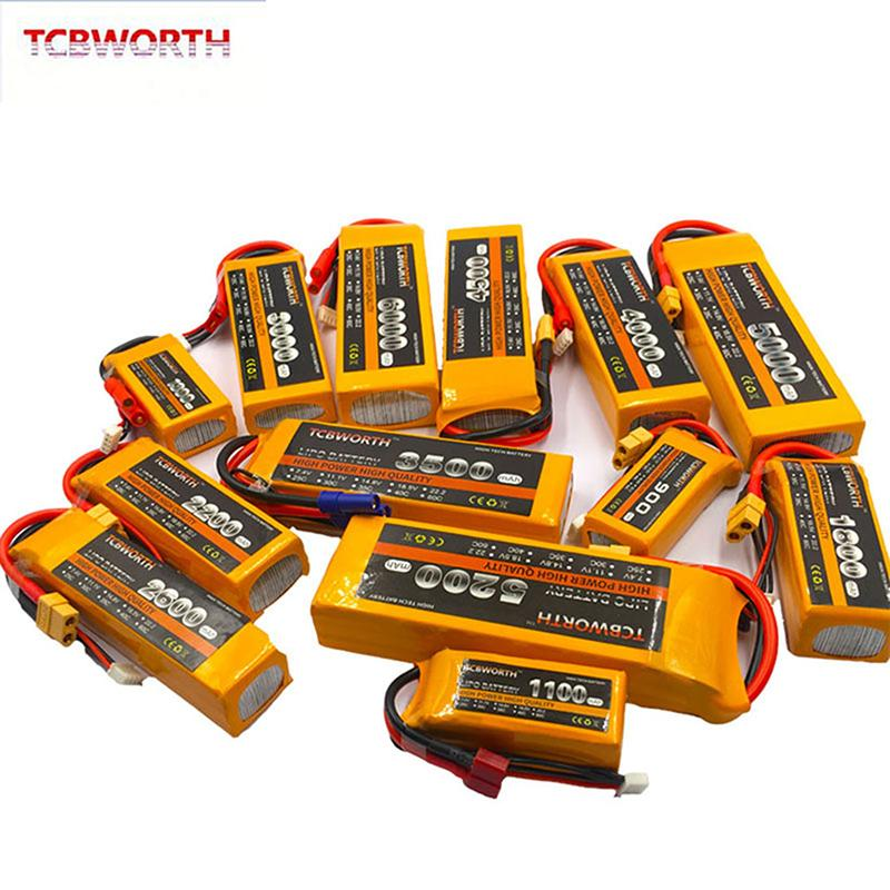 3S RC Toy LiPo 11.1V 1200mAh 2800mAh 3800mAh 4200mAh 4500mAh 5200mAh 25C 35C 60C 3S Per RC Drone Helicopter Car