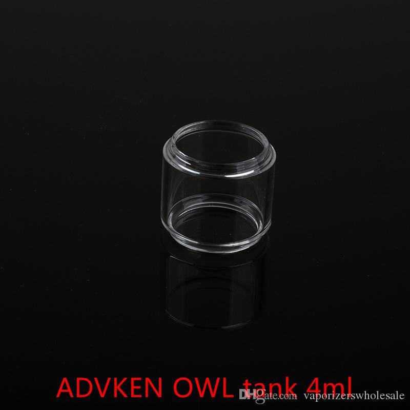 Großhandel ADVKEN OWL Tank 4ml Ersatzglasröhre mit dhl-freiem Verschiffen kaufen billig ADVKEN OWL Tank 4ml Fatboy Glasröhre