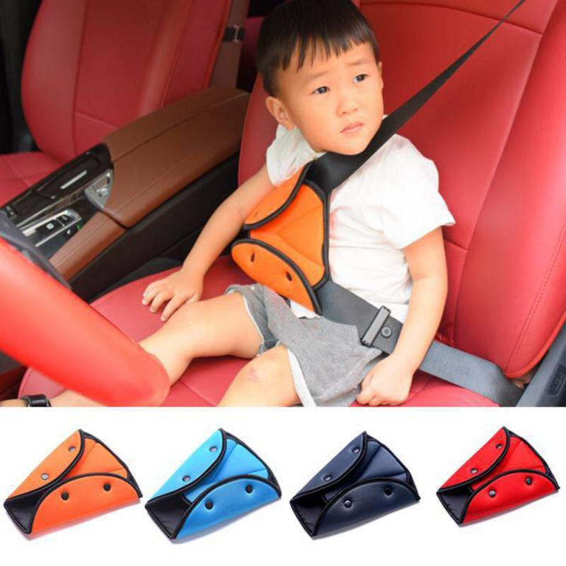 Swell 2019 Triangle Baby Kids Car Safe Fit Seat Belt Adjuster Device Auto Safety Belt Cover Child Neck Protection Positioner Breathable From Pubao 48 94 Creativecarmelina Interior Chair Design Creativecarmelinacom