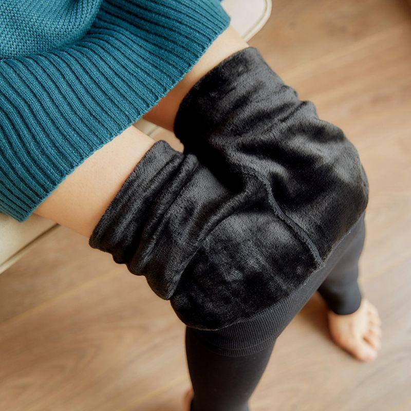 Bellflower High Waist Leggings Women Autumn 2019 Velvet Leggings Korean Thin Womens Pants Warm Leggin Mujer Winter