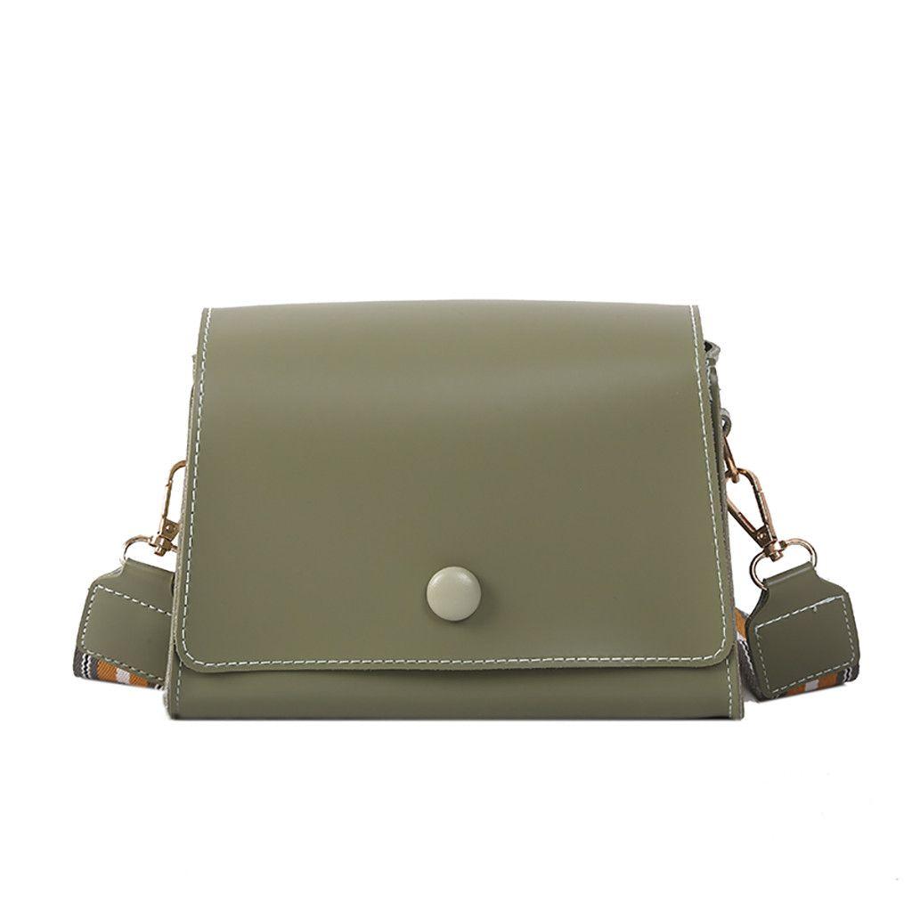 New Elegant Shoulder Bag Women Wild Simple Messenger Bag For Girls Versatile Casual Shoulder Strap Slung Single Square K620