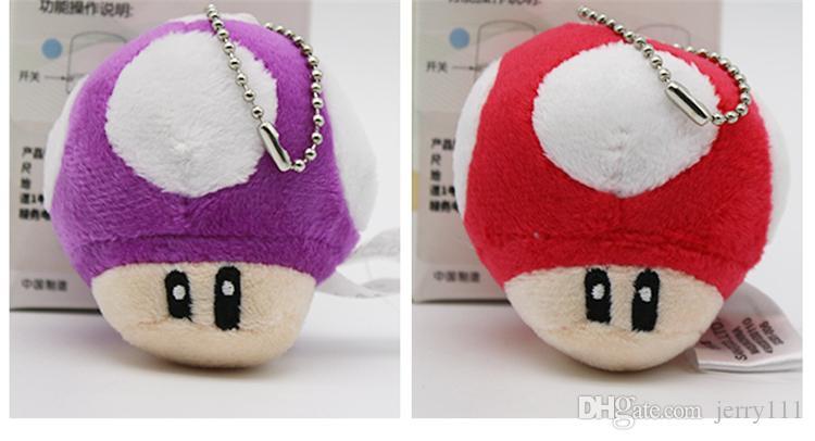 2020 6cm Super Mario Bros Luigi Yoshi Toad Mushroom Mushrooms