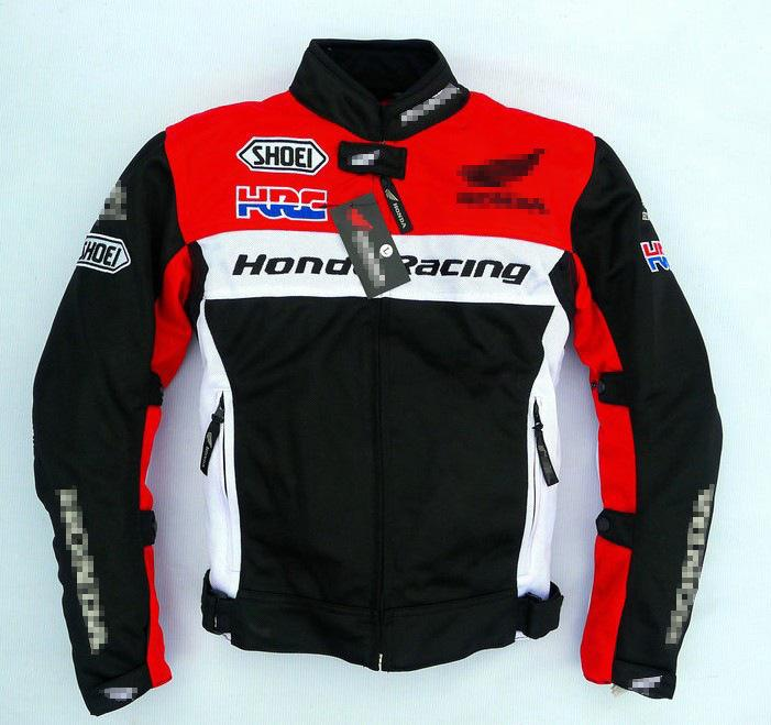 2019 NEW HONDA HRC Jacket Motorcycle Jjacket Riding Cycling Windproof Off-road