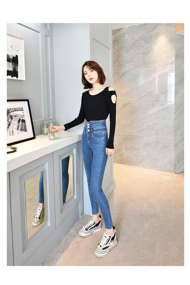 JinYiLai Мораль ног брюки моды карандаш штаны