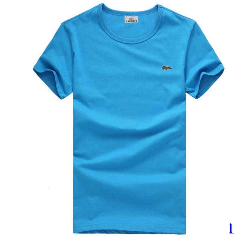 Mens Tees Designer modo di marca di T delle parti superiori traspirante sciolto Pantaloncini maniche Stampa Coccodrillo lusso magliette delle parti superiori summer1